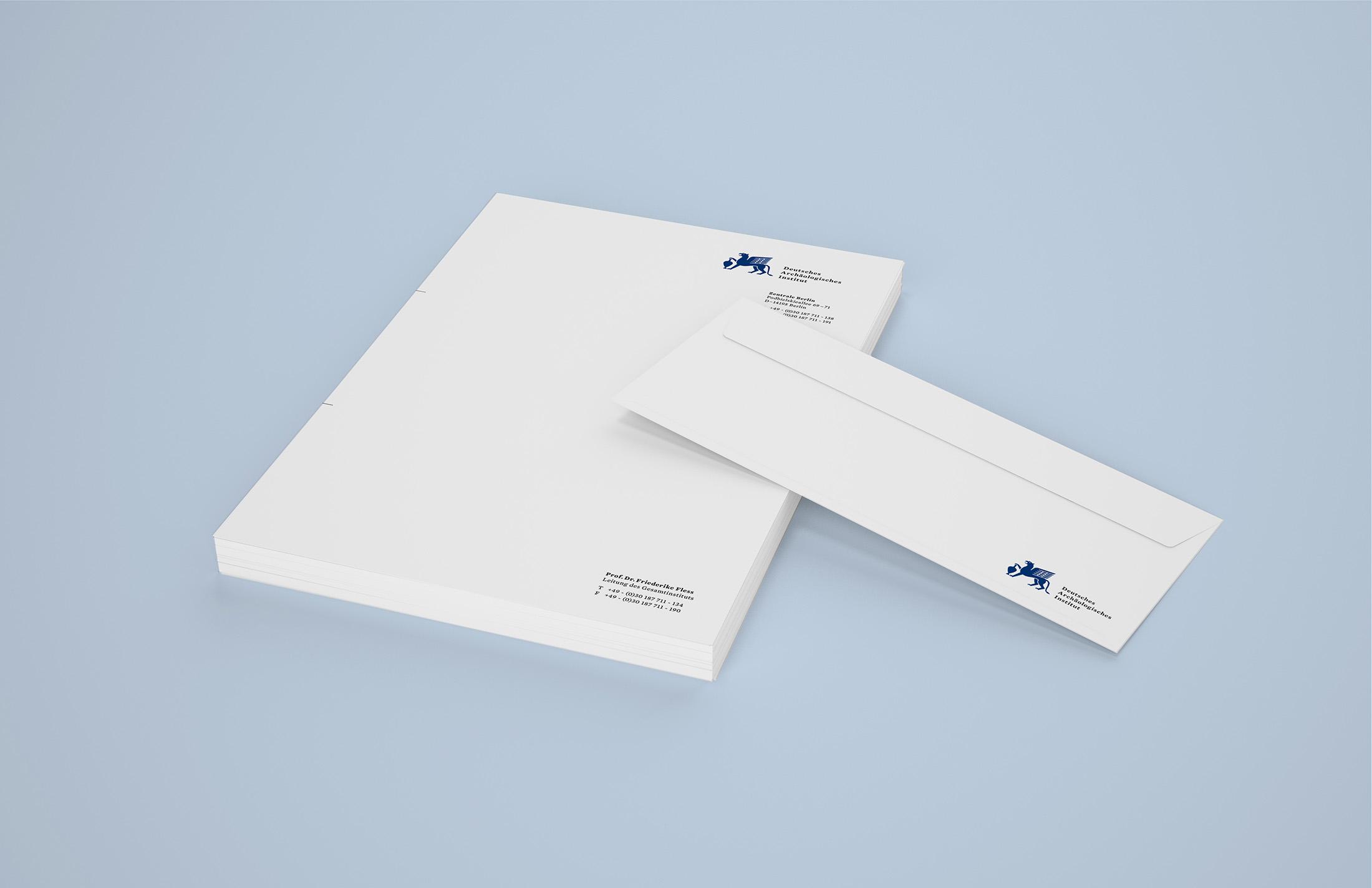 Corporate Design Potsdam DAI Briefbögen