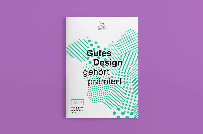 Corporate Design Potsdam Designpreis Brandenburg Broschur Cover