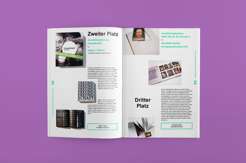 Corporate Design Potsdam Designpreis Brandenburg Broschur Layout