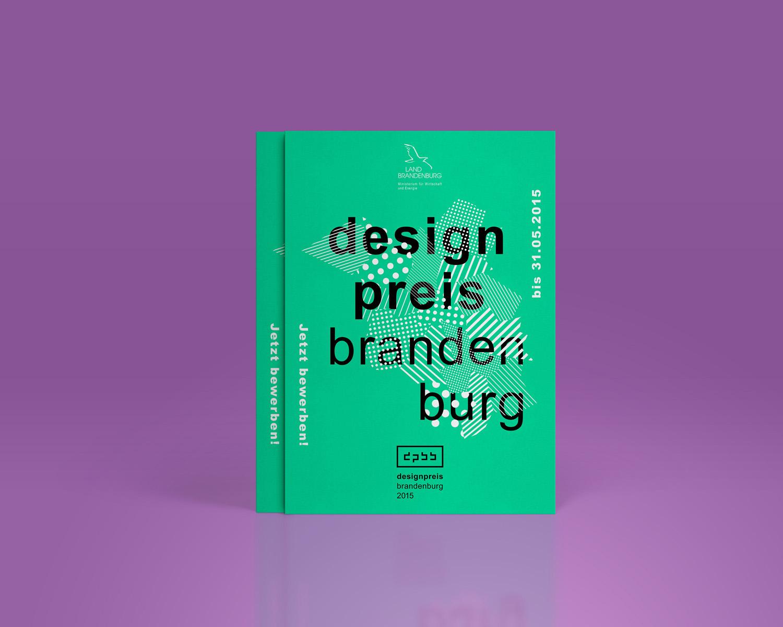 Corporate Design Potsdam Designpreis Brandenburg Flyer