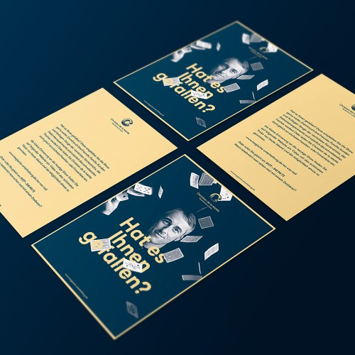 Corporate Design Potsdam Christian de la Motte Flyer