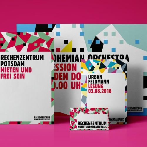 Corporate Design Rechenzentrum Potsdam Medien Cover