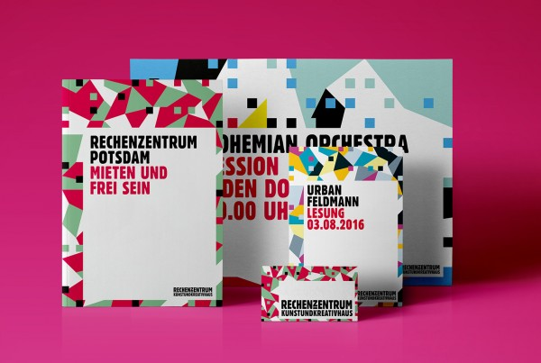 Corporate Design Rechenzentrum Potsdam Medien Cover