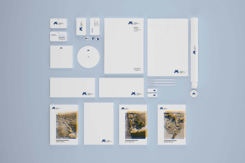 Corporate Design Potsdam DAI Geschäftsausstattung