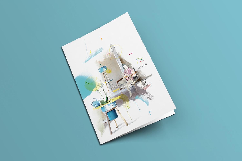 Corporate Design Potsdam Rejon Flyer