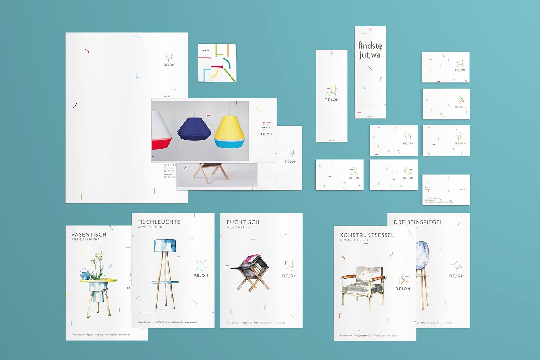 Corporate Design Potsdam Rejon Geschäftsausstattung